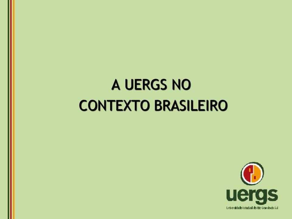 A UERGS NO CONTEXTO BRASILEIRO