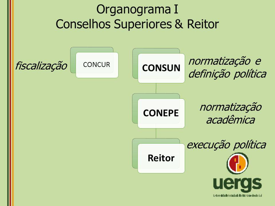 Conselhos Superiores & Reitor