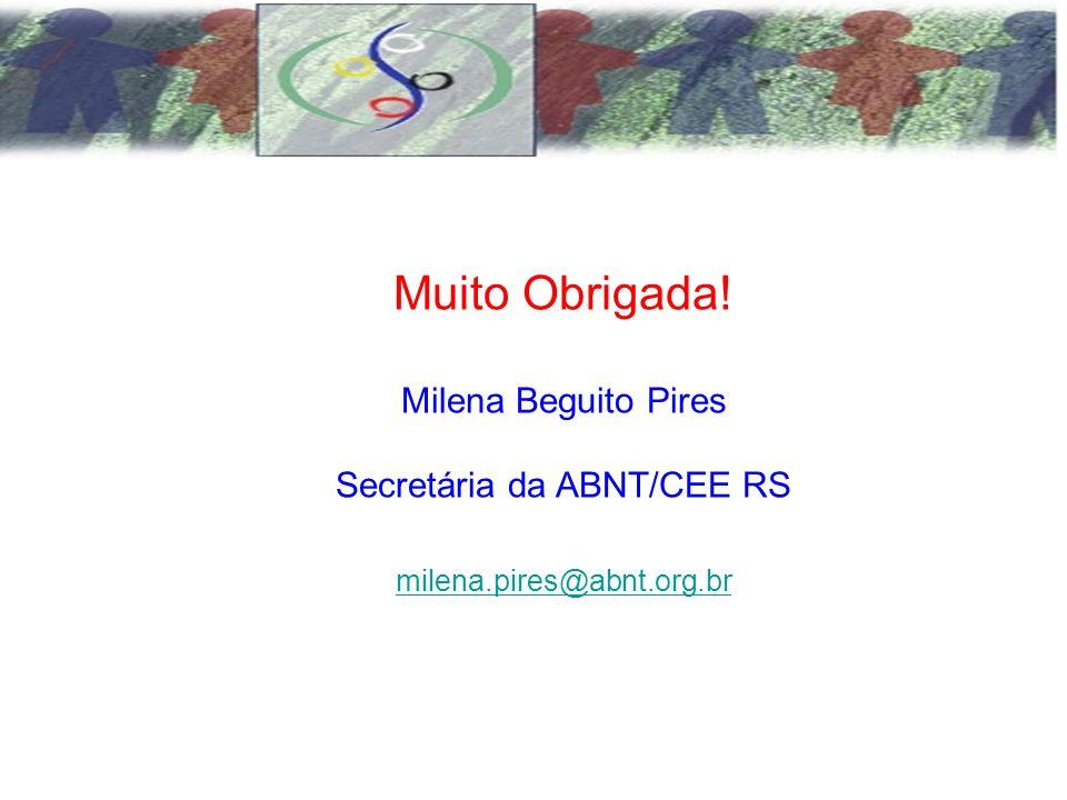 Secretária da ABNT/CEE RS