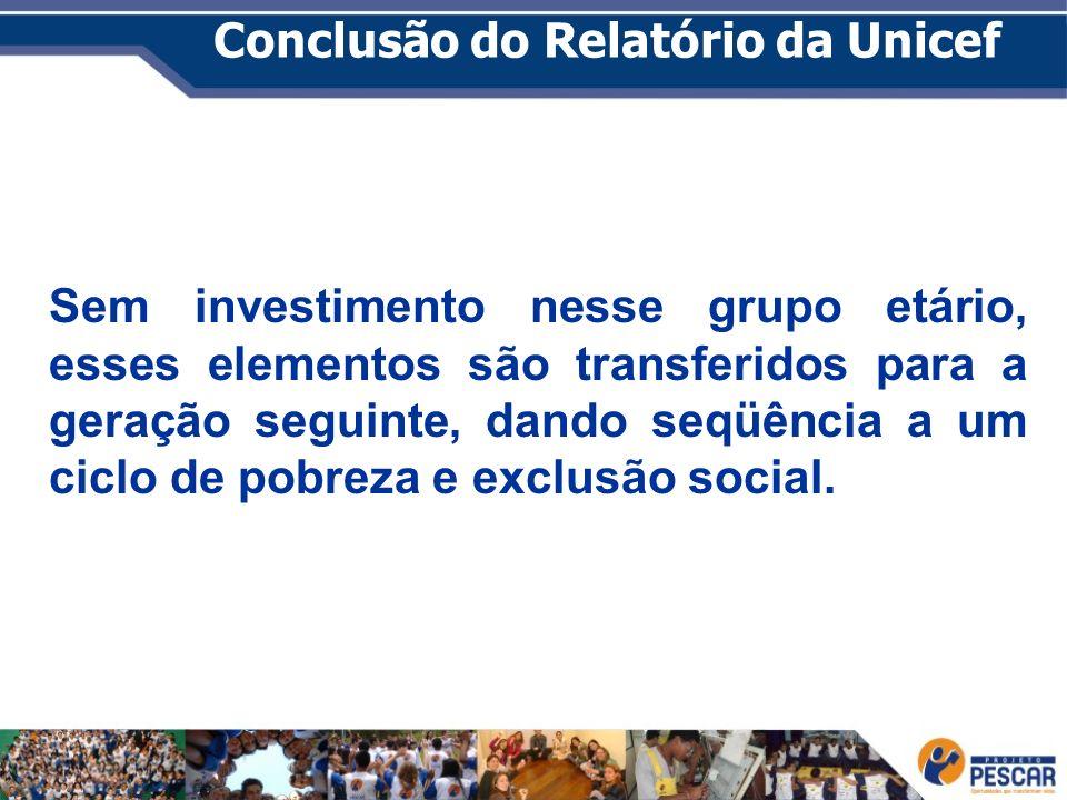 Conclusão do Relatório da Unicef