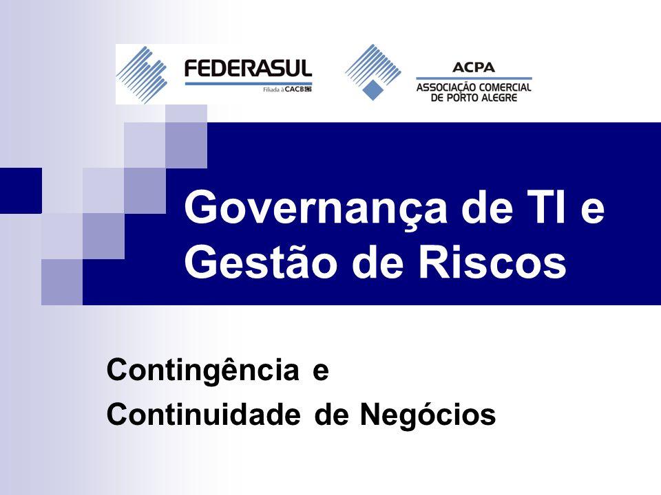 Governança de TI e Gestão de Riscos