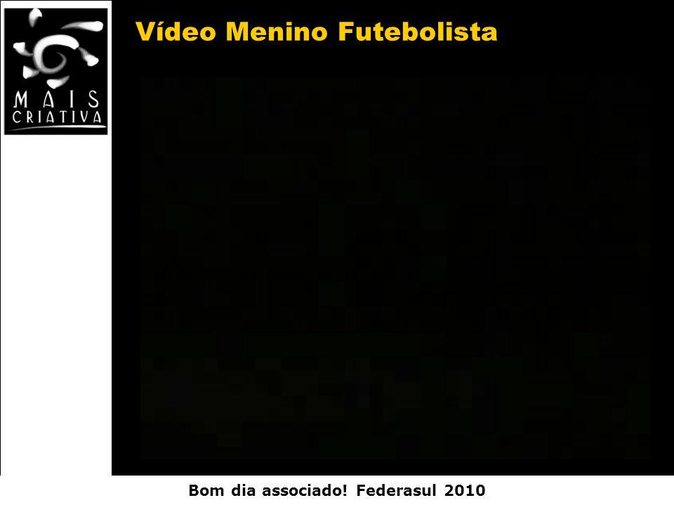 Vídeo Menino Futebolista