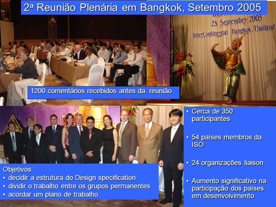 2a Reunião Plenária em Bangkok, Setembro 2005