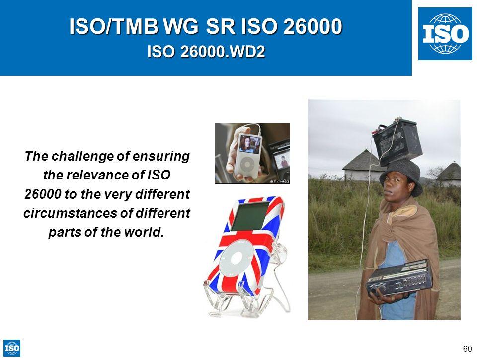 ISO/TMB WG SR ISO 26000 ISO 26000.WD2