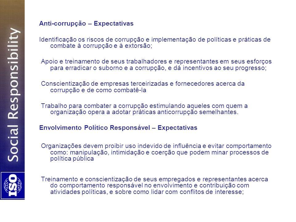 Anti-corrupção – Expectativas