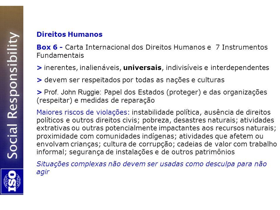 Direitos Humanos Box 6 - Carta Internacional dos Direitos Humanos e 7 Instrumentos Fundamentais.
