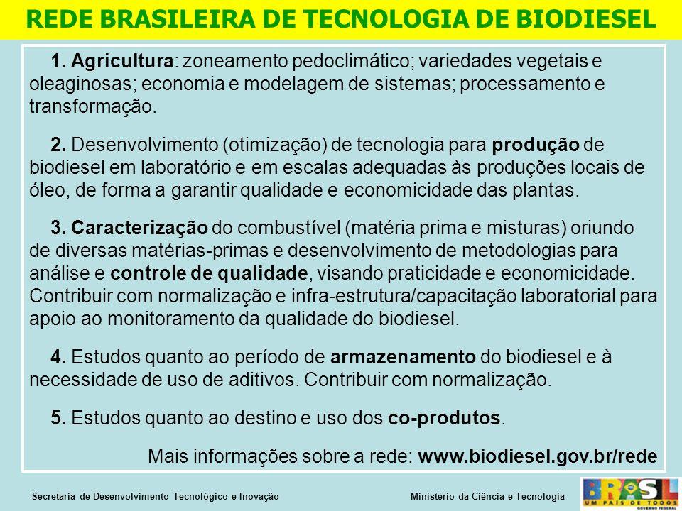 REDE BRASILEIRA DE TECNOLOGIA DE BIODIESEL