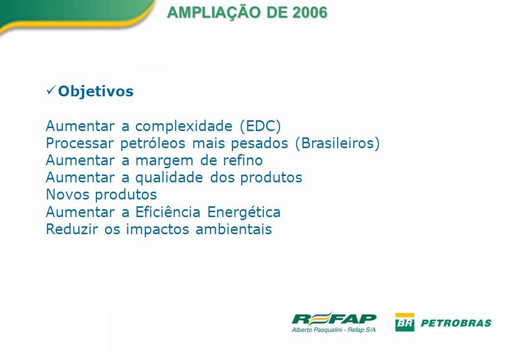 AMPLIAÇÃO DE 2006