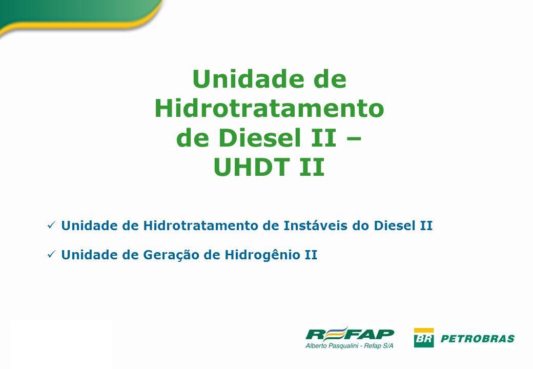 Unidade de Hidrotratamento de Diesel II – UHDT II