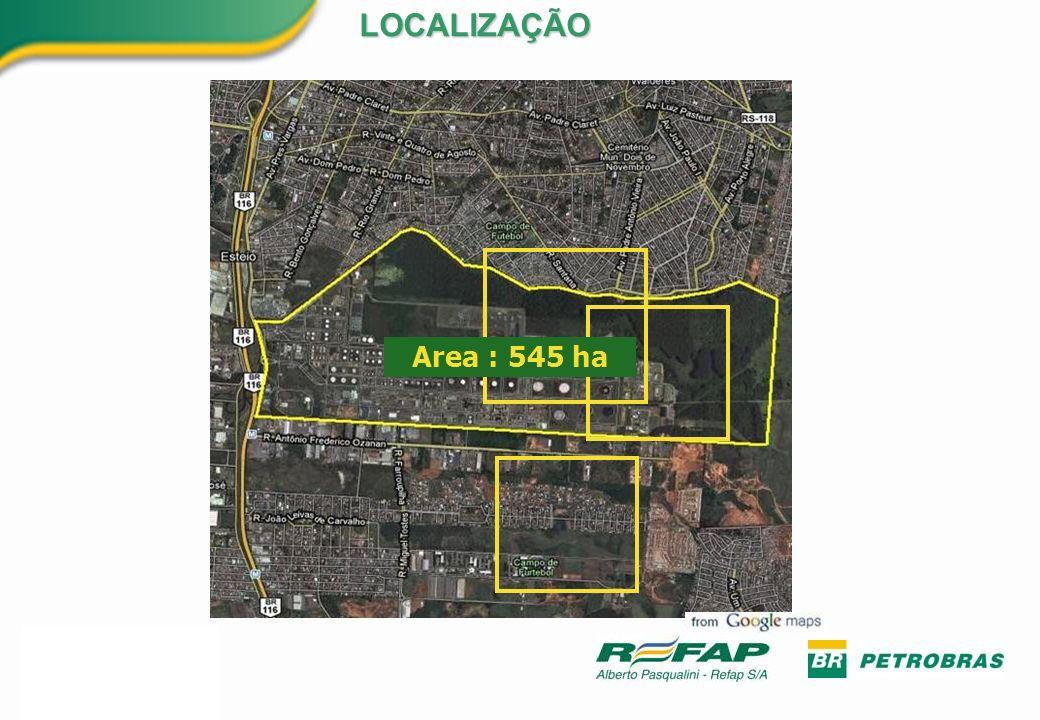 LOCALIZAÇÃO Area : 545 ha 5