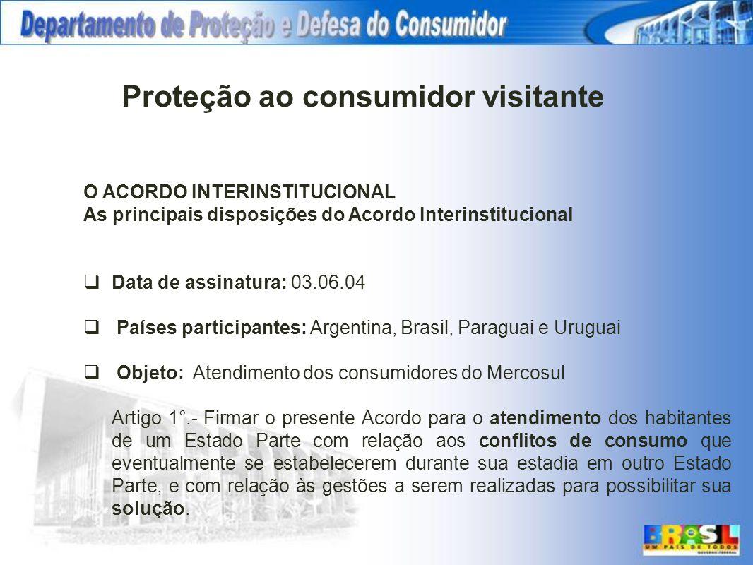 Proteção ao consumidor visitante