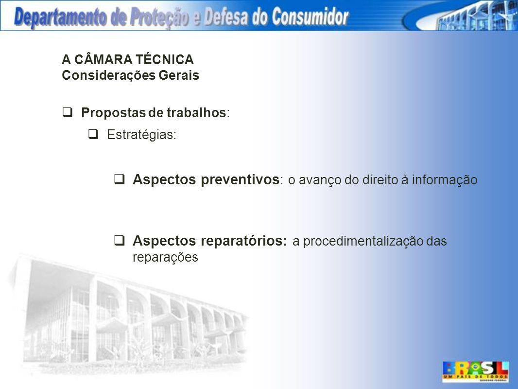 Aspectos preventivos: o avanço do direito à informação