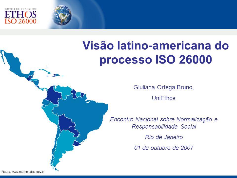 Visão latino-americana do processo ISO 26000