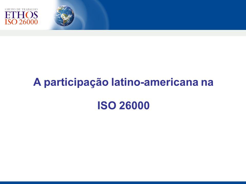 A participação latino-americana na