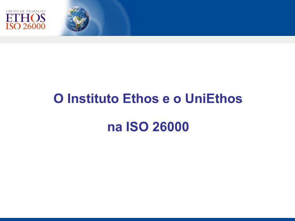 O Instituto Ethos e o UniEthos