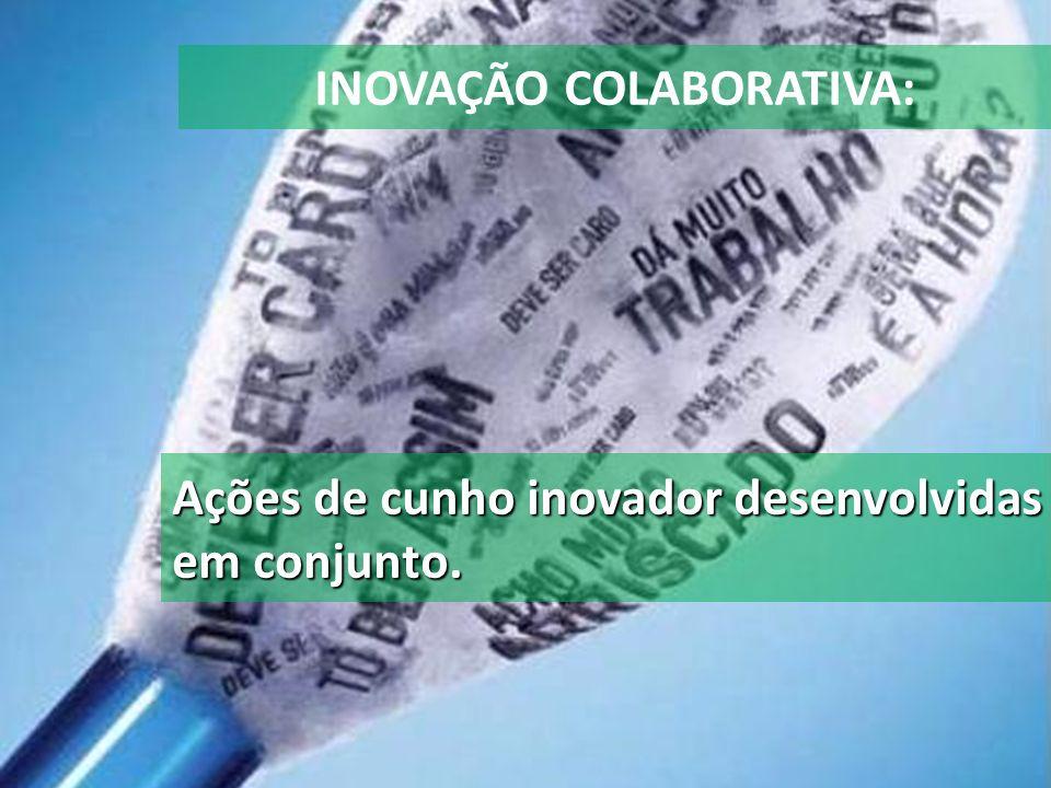 INOVAÇÃO COLABORATIVA: