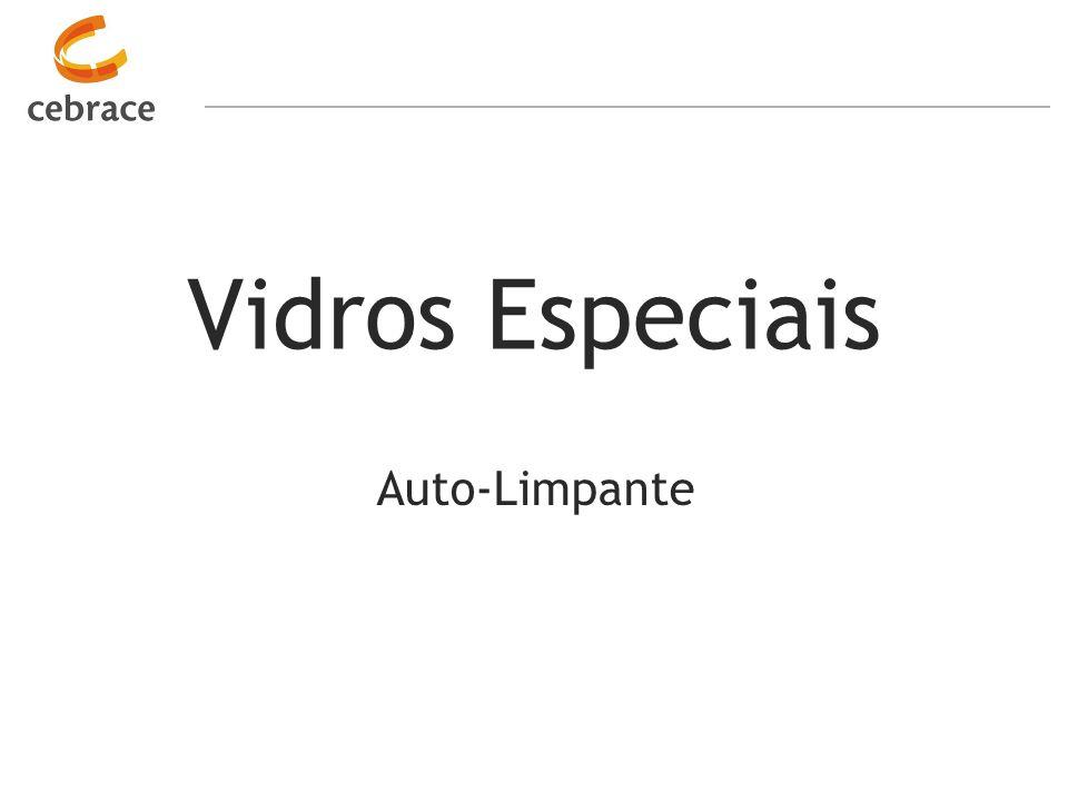 Vidros Especiais Auto-Limpante