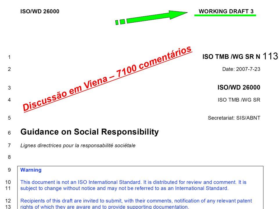 Discussão em Viena – 7100 comentários