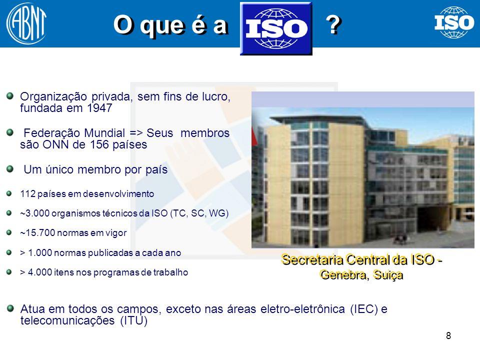 Secretaria Central da ISO - Genebra, Suiça