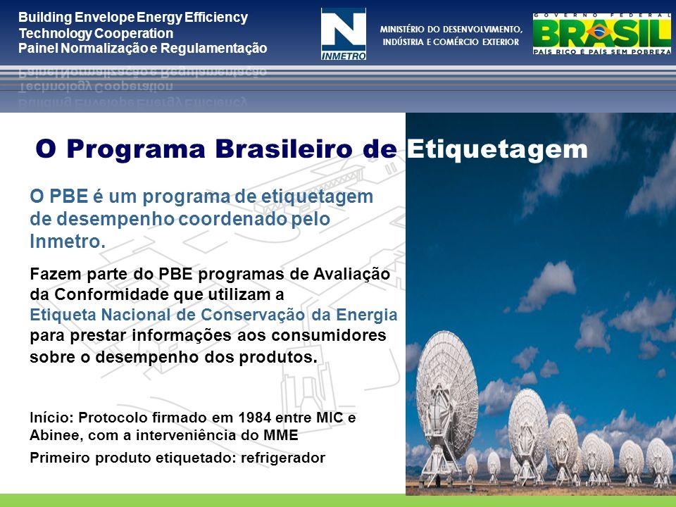 O Programa Brasileiro de Etiquetagem