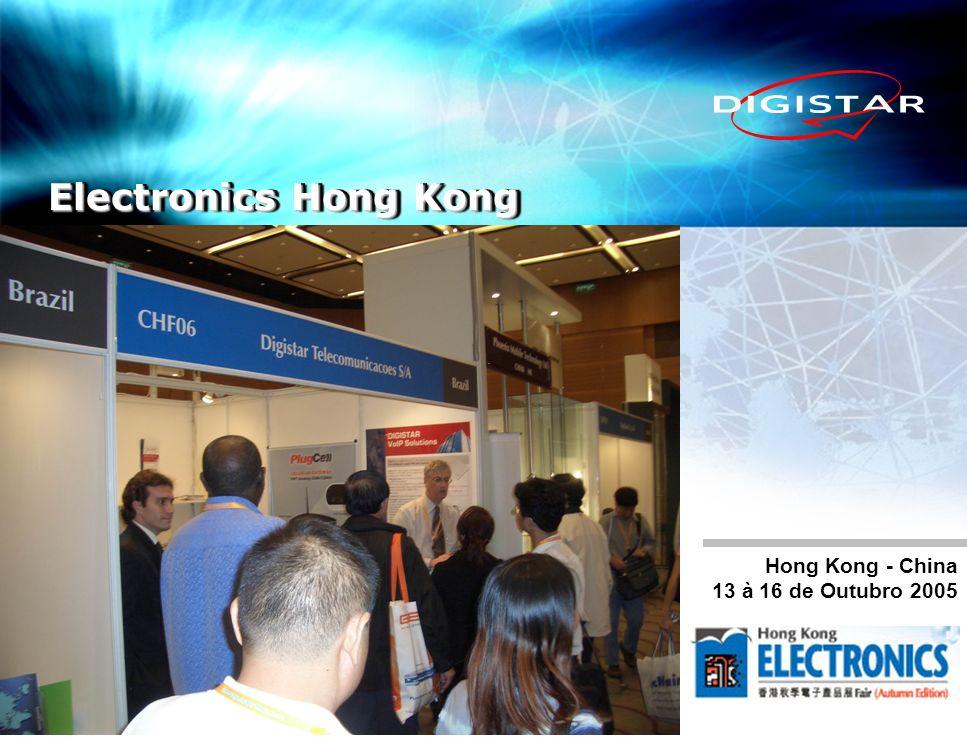 Electronics Hong Kong Hong Kong - China 13 à 16 de Outubro 2005