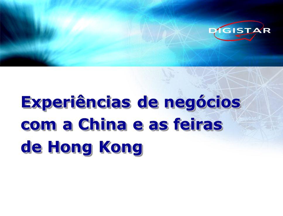 Experiências de negócios com a China e as feiras