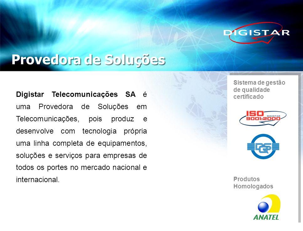 Provedora de Soluções Sistema de gestão. de qualidade certificado.