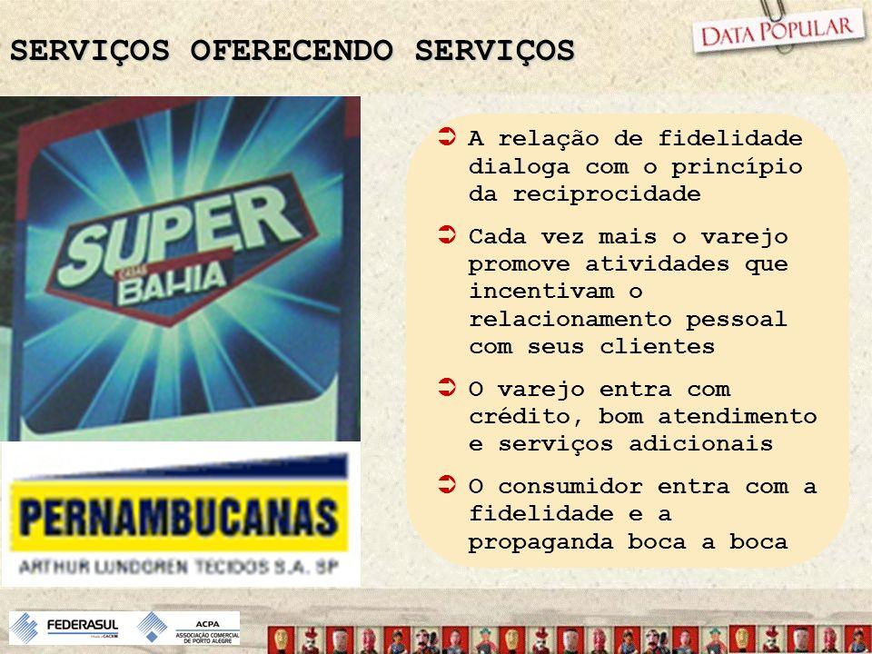 SERVIÇOS OFERECENDO SERVIÇOS