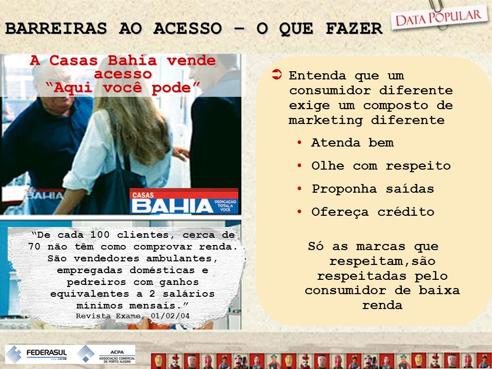 BARREIRAS AO ACESSO – O QUE FAZER