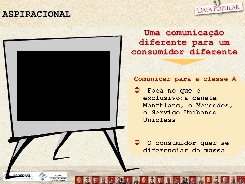 Uma comunicação diferente para um consumidor diferente