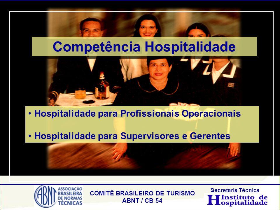 Competência Hospitalidade