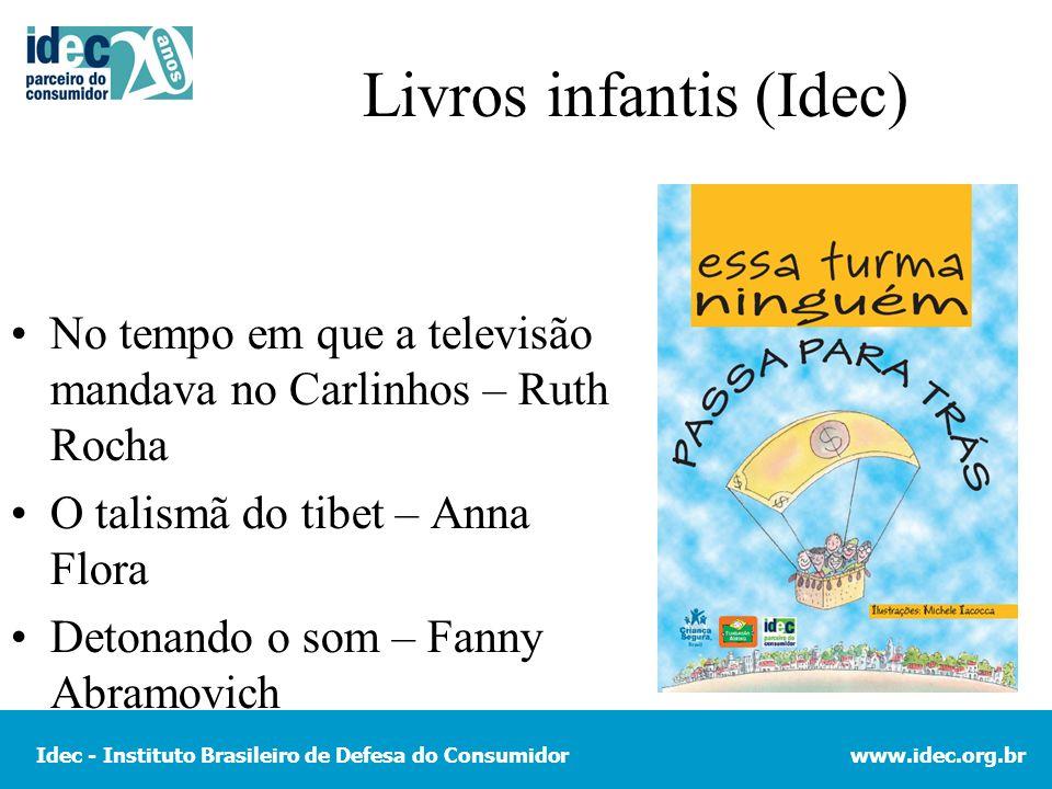 Livros infantis (Idec)