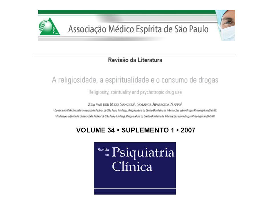 VOLUME 34 • SUPLEMENTO 1 • 2007