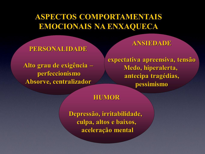 ASPECTOS COMPORTAMENTAIS EMOCIONAIS NA ENXAQUECA