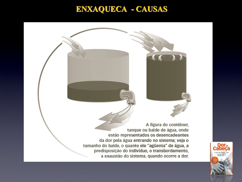 ENXAQUECA - CAUSAS