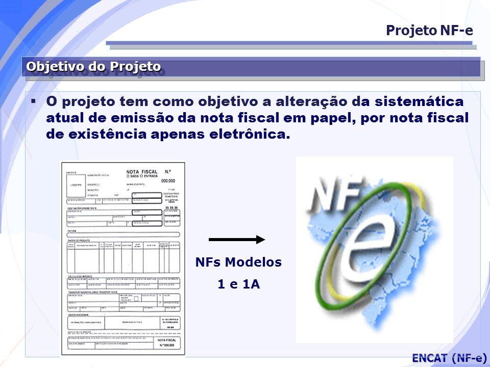 Projeto NF-e Objetivo do Projeto.