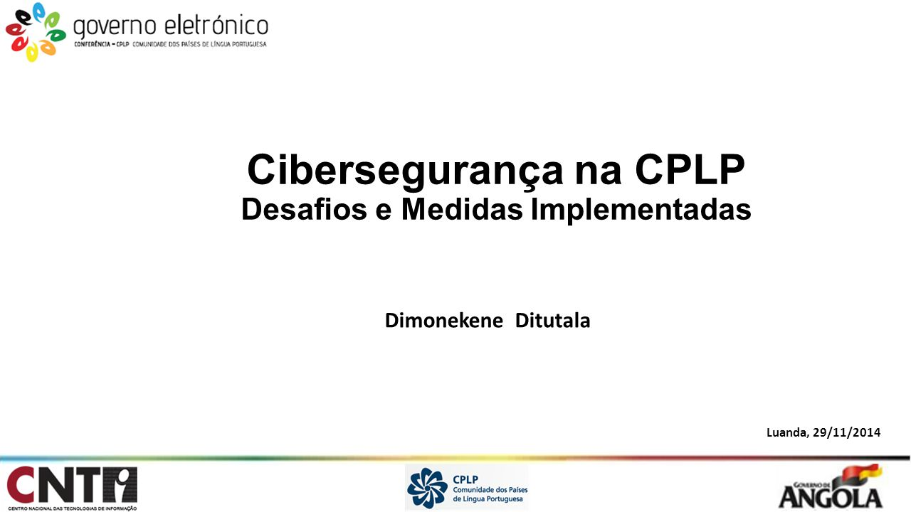 Cibersegurança na CPLP Desafios e Medidas Implementadas