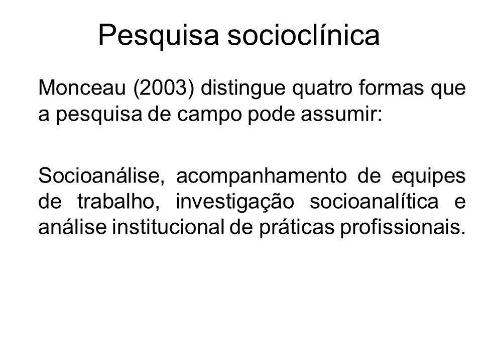 Pesquisa socioclínica