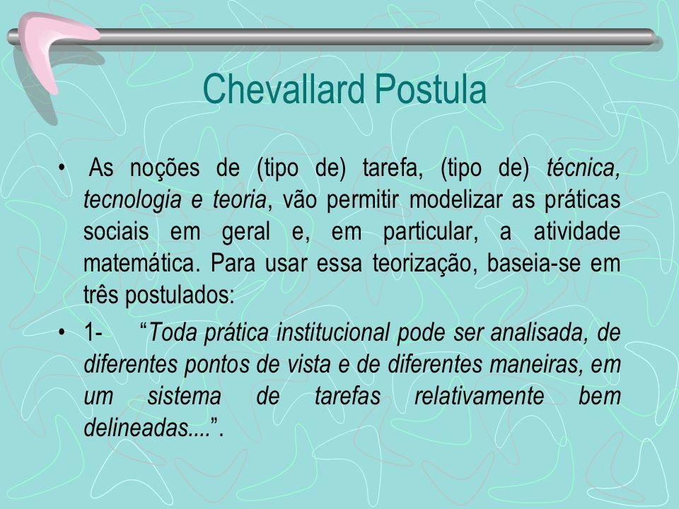Chevallard Postula