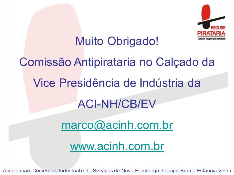 Comissão Antipirataria no Calçado da Vice Presidência de Indústria da