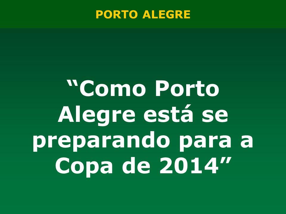 Como Porto Alegre está se preparando para a Copa de 2014
