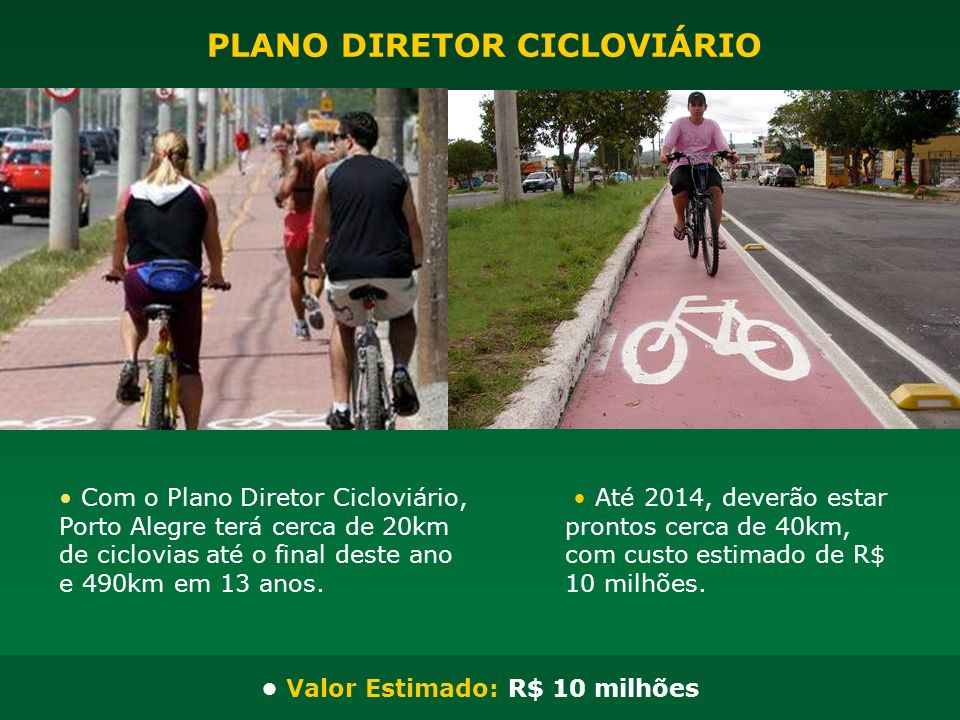 PLANO DIRETOR CICLOVIÁRIO