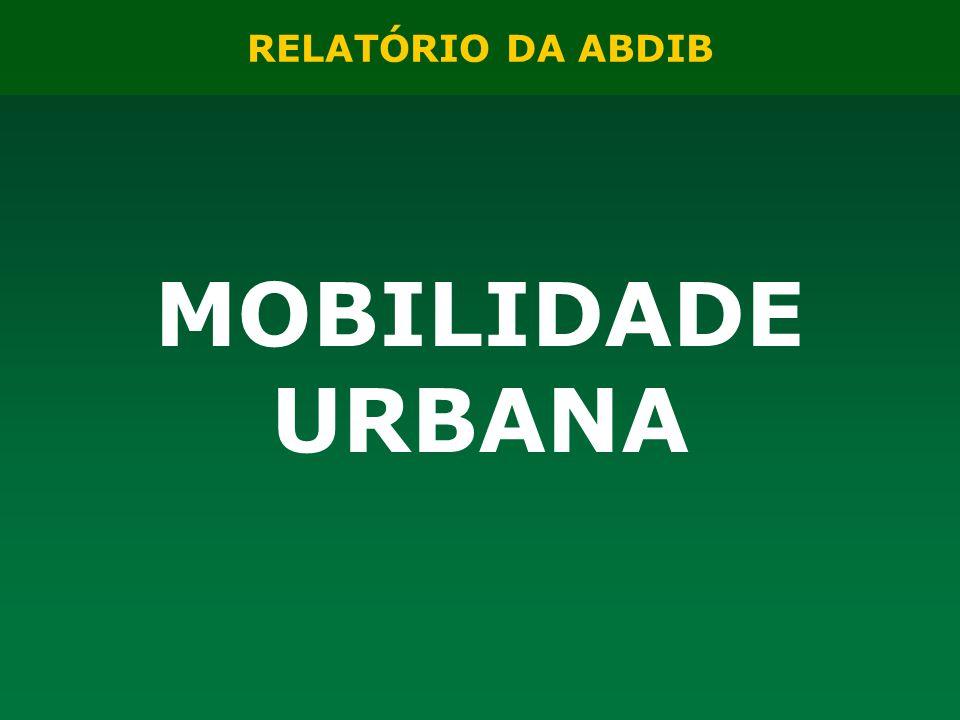 RELATÓRIO DA ABDIB MOBILIDADE URBANA