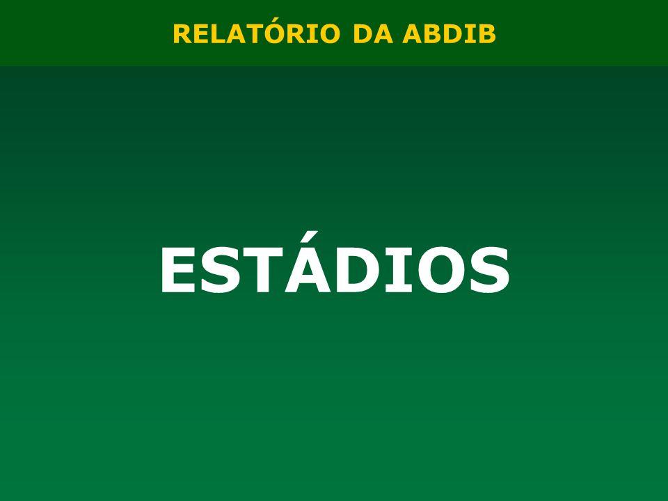 RELATÓRIO DA ABDIB ESTÁDIOS