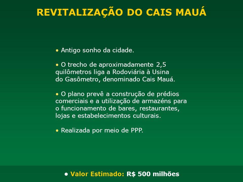 REVITALIZAÇÃO DO CAIS MAUÁ
