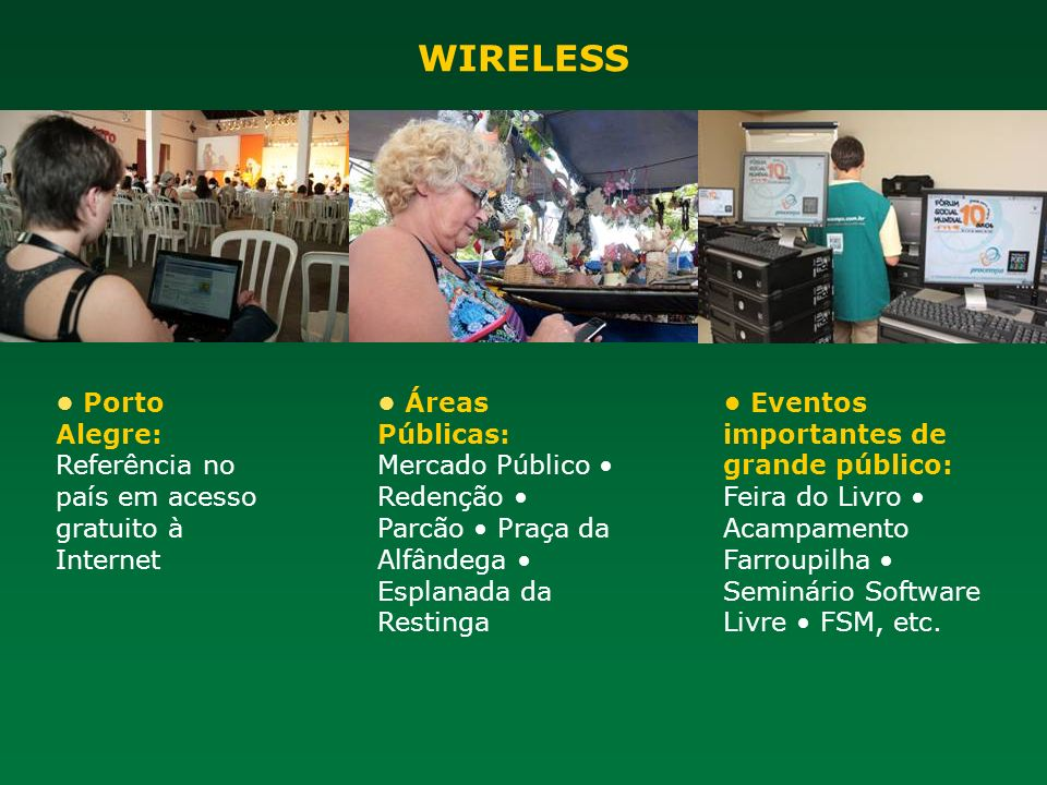 WIRELESS • Porto Alegre: