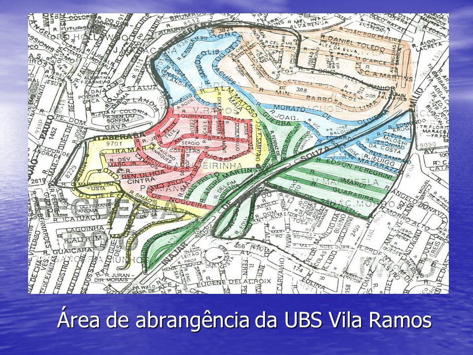 Área de abrangência da UBS Vila Ramos