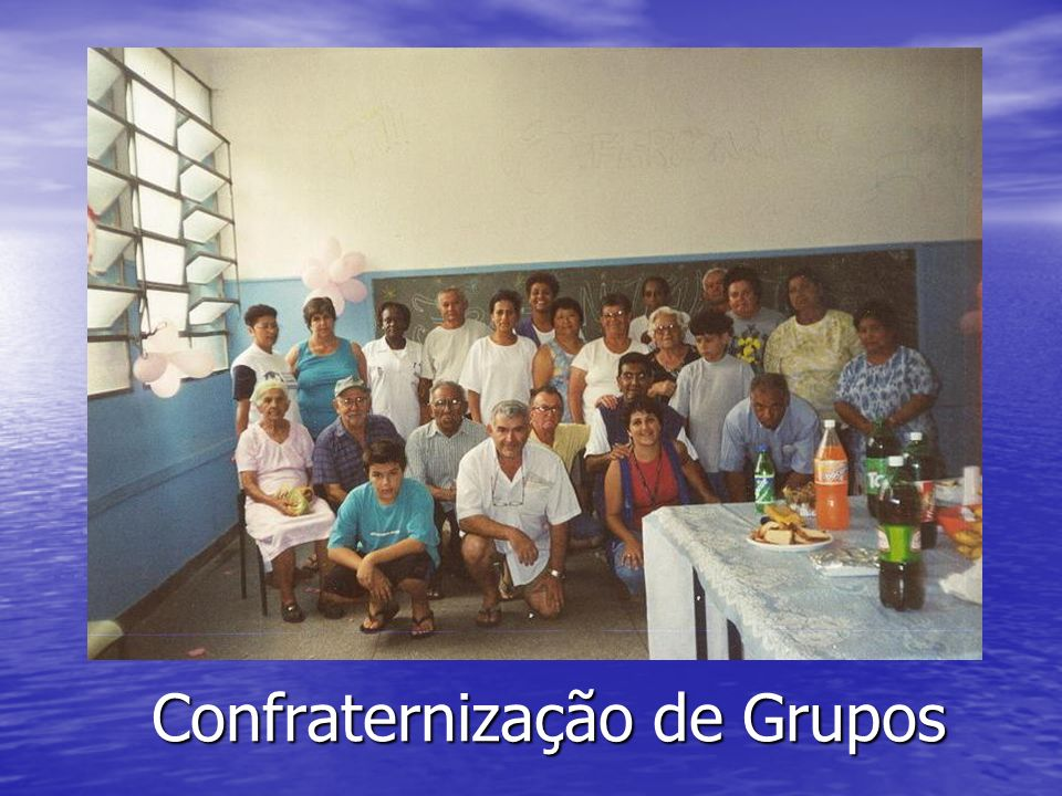 Confraternização de Grupos