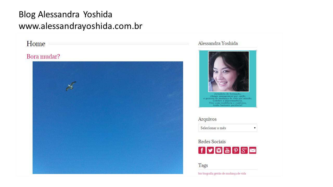 Blog Alessandra Yoshida