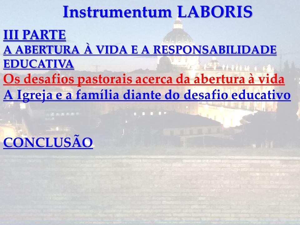 Instrumentum LABORIS III PARTE